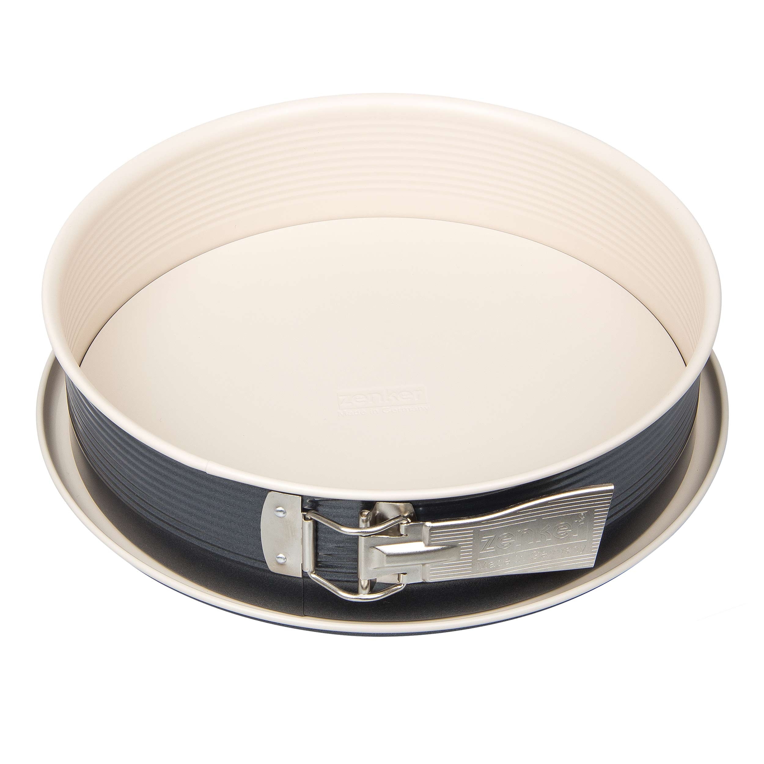G Küchenform Zenker Creme Noir Springform Pan With 1 Bottom Baking Tin Cake Mould Ilag Ultimate 7812 At About Tea De Shop
